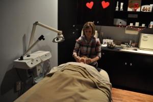Tina Lagrotteria - Divine Aesthetics,Inc Treatment Room Laura Lambeth, Licensed Esthetician_opt